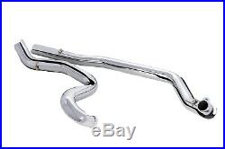 ACM Chrome True Duals Headers Exhaust Pipes System Harley Touring Bagger 95-08