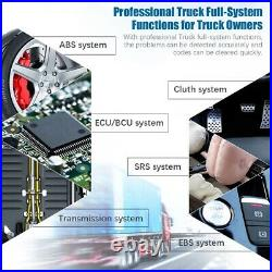 All System DPF Oil Reset Engine Transmission Diagnostic Tool Heavy Duty Truck