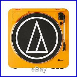 Audio-Technica AT-LP60 Fully Automatic Stereo Turntable System (Orange)