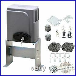Automatic Sliding Gate Opener 1400lbs Motor Auto-Close Security System