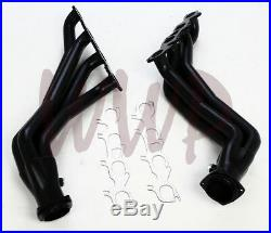 Black Coated Exhaust Headers System 05-17 Magnum/Charger/300 R/T 5.7L 6.1L Hemi
