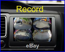 HD 1080P 360 Bird View Panorama System Car DVR system rear camera for all car