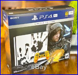 NEW Death Stranding CONSOLE ONLY Limited Edition 1TB PlayStation 4 PS4 Pro withbox