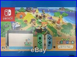 Nintendo Switch Animal Crossing New Horizon Special Edition Japan Domestic New