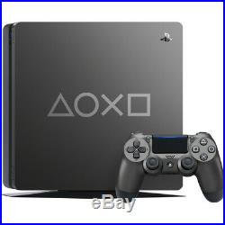 PlayStation 4 Slim 1TB Days of Play Limited Edition Console Steel Gray PS4 Con