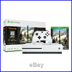 Xbox One S 1TB Console Tom Clancy's The Division 2 Bundle Brand New