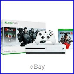Xbox One S 1TB Gears 5 Console Bundle White Xbox One S Console And Controller