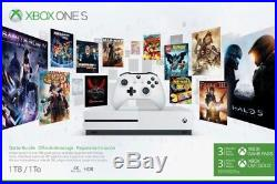 System Brand New   Xbox One S Starter Bundle (1TB) 3 Month